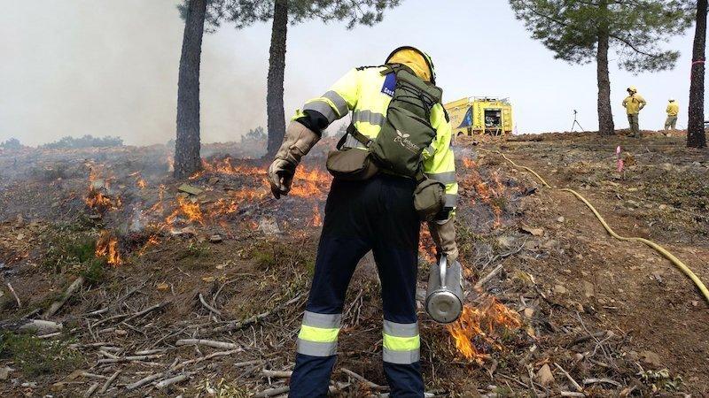 Registrados casi cien incendios en lo que va de verano en la provincia de Cuenca