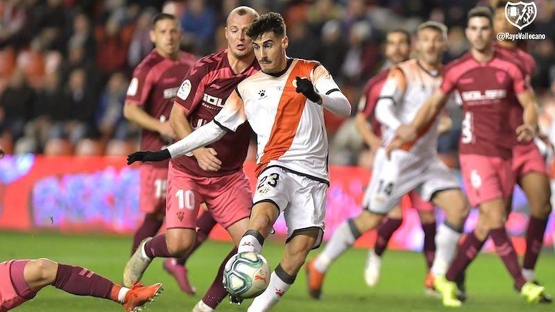 Rayo y Albacete reanudarán la competición con su partido aplazado en 2019