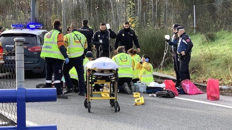 Mueren tres mujeres tras ser atropelladas por un coche cuando paseaban por la  N-620