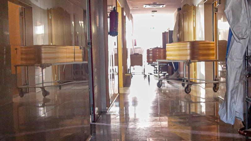 Pierden el cadáver de Manuel, un hombre muerto por coronavirus en el Hospital