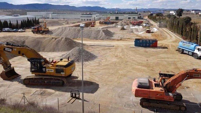 CLM, con el 52% de obras paradas, región que más acusa la paralización por la crisis