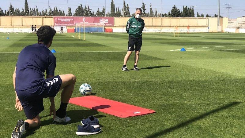El Albacete notifica el positivo de un jugador, que está en buen estado