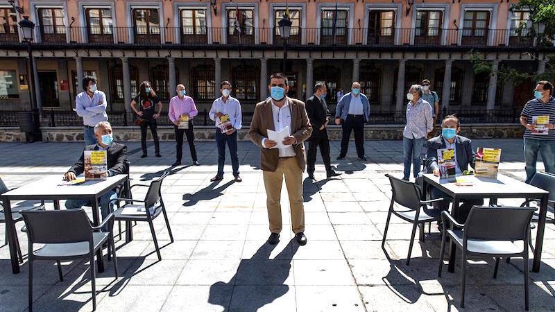 Los hosteleros de Toledo piden medidas para no acabar