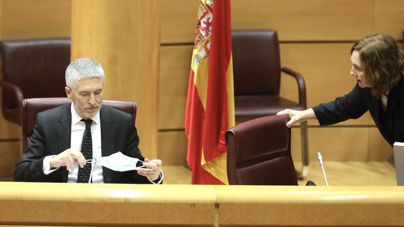 Marlaska asegura que nadie del Ministerio pidió a De los Cobos el informe del 8M