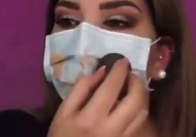 ALERTA: Expertos advierten que la moda de pintarse la mascarilla es muy peligrosa