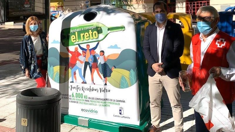 Diez municipios CLM se suman al reto de reciclar 6 toneladas vidrio en 15 días
