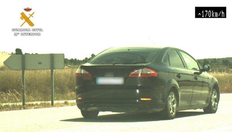 Investigado un conductor en Albacete que circulaba a 170 en un tramo de 80