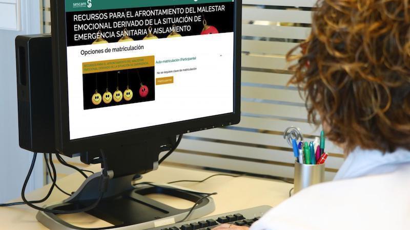 Más de 2.200 sanitarios han accedido a la plataforma de gestión emocional de CLM