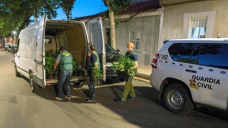 Prisión provisional para ocho detenidos en Puertollano por tráfico de drogas