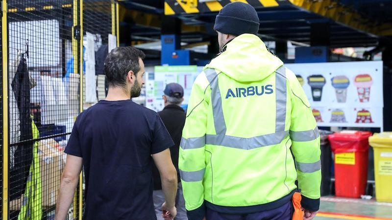 Los despidos de Airbus afectarán a un total de 283 empleados de la planta de Illescas