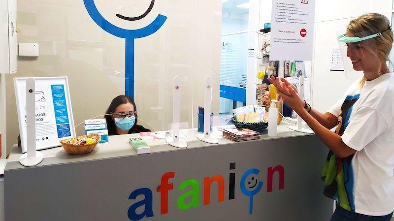 Afanion retoma la actividad presencial, con cita previa, en sus tres sedes en CLM