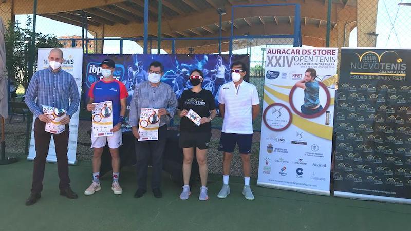 El Open Tenis Ciudad de Guadalajara se celebra este año del 6 al 12 de julio