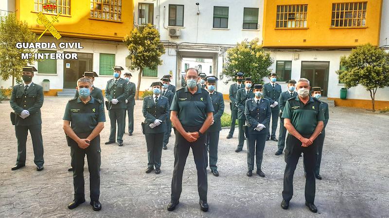 Dieciséis guardias civiles comienzan su periodo de prácticas en Ciudad Real