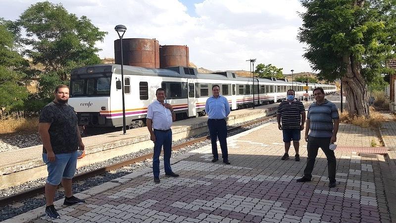 El alcalde de Huete pide reunirse con el presidente Renfe al reducirse los trenes