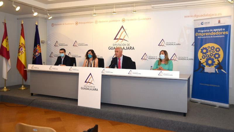 Diputación y CEOE-Cepyme Guadalajara presentan el plan de apoyo a emprendimiento