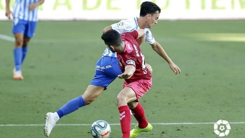 El Albacete está solo un punto por encima del descenso, tras empatar en Málaga