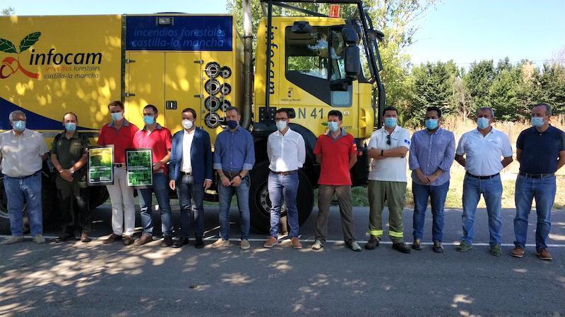 Desciende el número de incendios y hectáreas quemadas en CLM en el primer mes de campaña