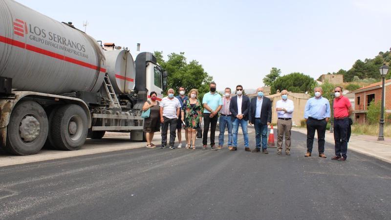 El Gobierno de CLM inicia las obras de remodelación de la carretera CM-412, en Riópar