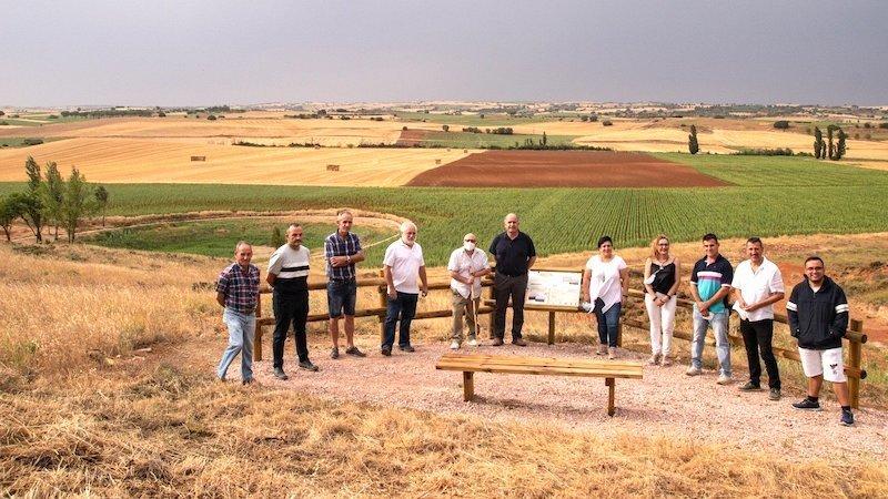Inaugurado el sendero del pozo Airón entre La Almarcha y Castillo de Garcimuñoz
