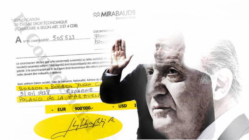 El rey emérito sacó 100.000 euros al mes en billetes de su cuenta suiza entre 2008 y 2012