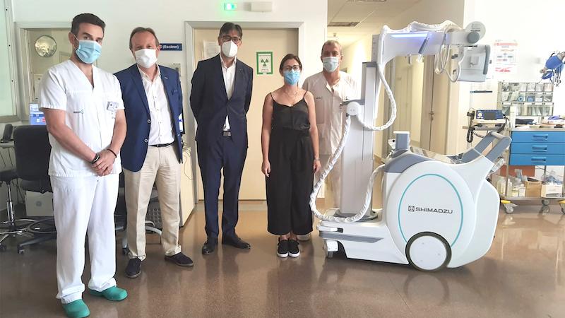 Un equipo de radiología portátil mejora la capacidad diagnóstica del Hospital de Tomelloso