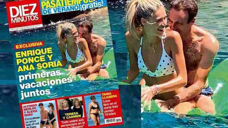 Las fotos que hunden a Paloma: Ponce pillado haciendo el trenecito con su novia en la playa