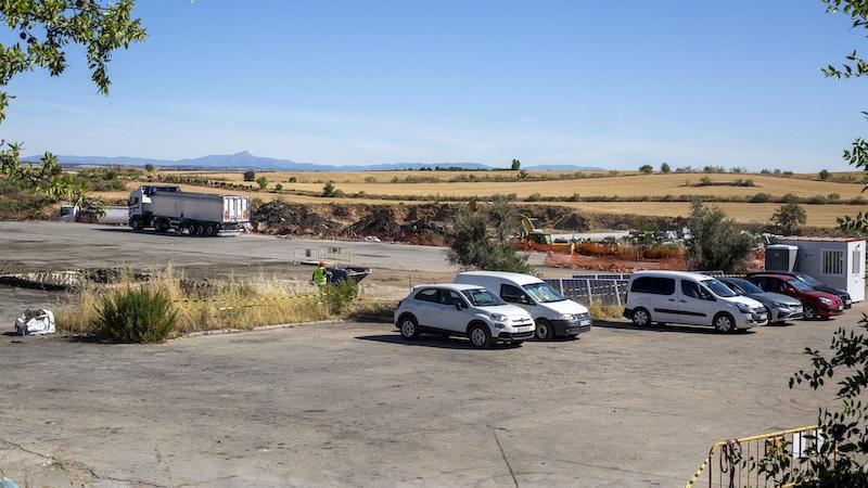 Casi 6.000 metros cúbicos de residuos tóxicos se van a retirar de la planta de Chiloeches