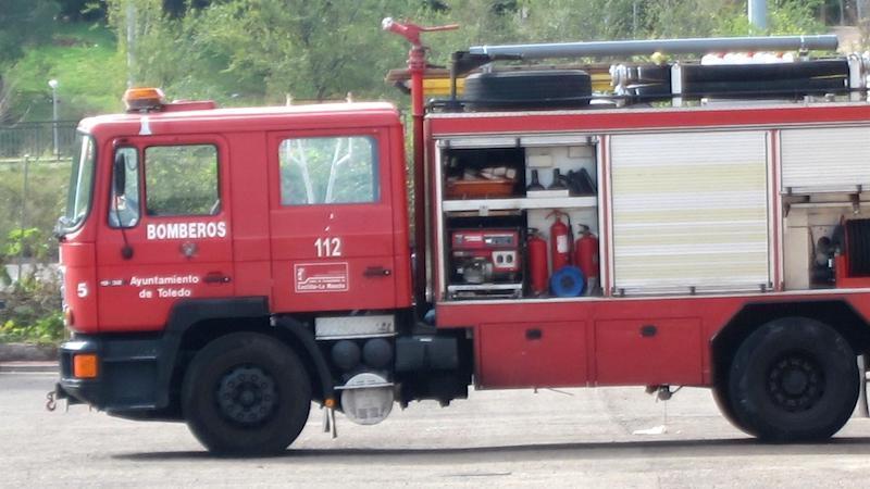 Extinguido un incendio declarado junto a la carreta N-400, en la ciudad de Toledo