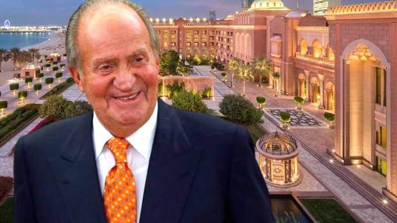 ¿Acompañado de una amiga especial?: El rey Juan Carlos en Abu Dabi en el hotel más caro del mundo