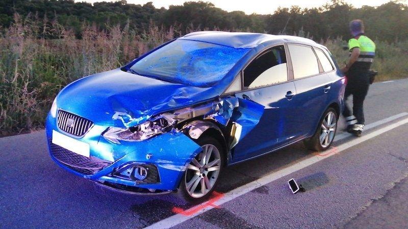 Un conductor borracho atropella mortalmente a un ciclista y hiere a otros cuatro
