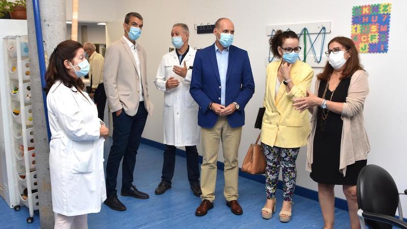 Sanidad duplica la superficie del servicio de Rehabilitación del Hospital de Talavera