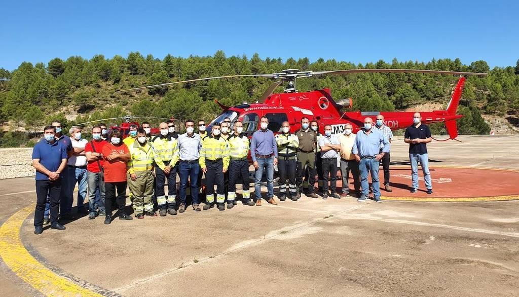 Las hectáreas afectadas por incendios forestales en Castilla-La Mancha se reducen un 72%