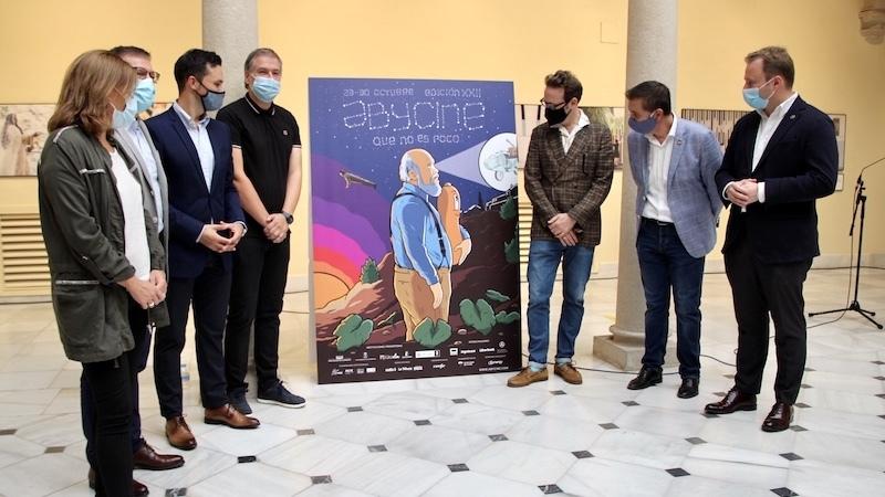 Joaquín Reyes elabora el cartel del 'Abycine' 2020 con homenaje a Cuerda