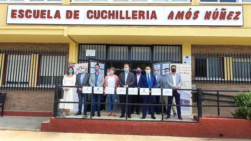 La Escuela de Cuchillería de Albacete cumple 20 años con 1.700 alumnos formados