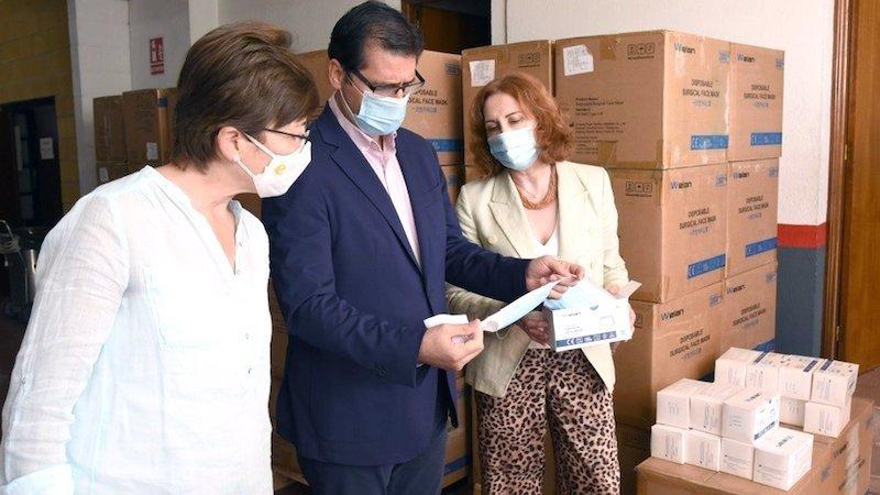 Diputación ofrece ayuda a Subdelegación para repartir mascarillas en pueblos pequeños