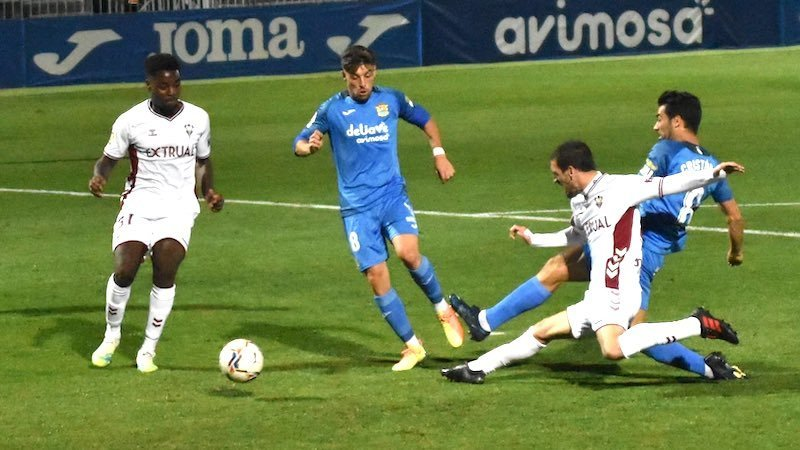 Pathé Ciss agrava el mal inicio del Albacete en su visita a Fuenlabrada (1-0)