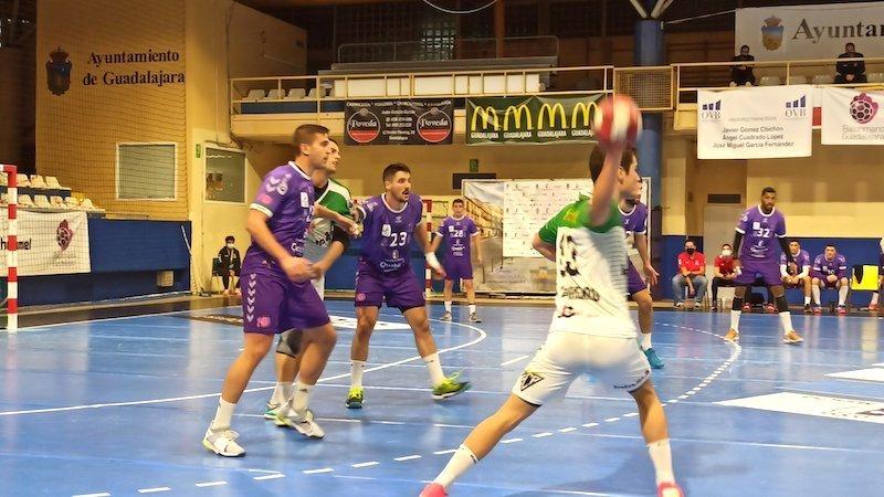 Dasko evita la victoria del Quabit Guadalajara en su visita a Pamplona (29-29)