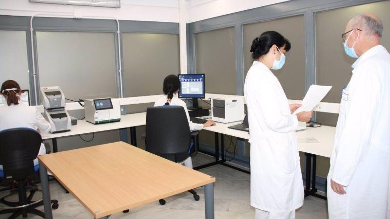 El Hospital de Cuenca aumenta su capacidad diagnóstica de covid ampliando espacios