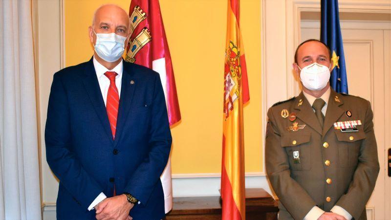 El coronel Fernando Antón Bernalte, nuevo subdelegado de Defensa en Cuenca