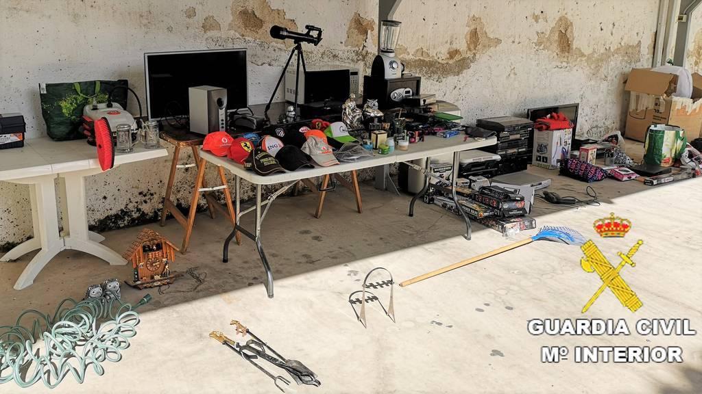 Un detenido y una investigada por 4 robos en viviendas de Cardiel de los Montes