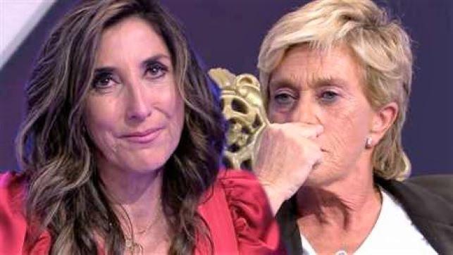 Paz Padilla rompe a llorar tras ver la tortura a la que 'Sálvame' somete a Chelo García-Cortés