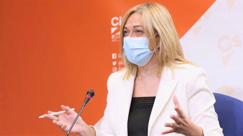 Picazo, nueva presidenta del grupo de Ciudadanos en las Cortes de Castilla-La Mancha