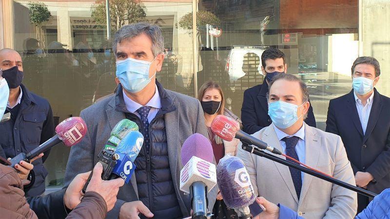 Román pregunta al Gobierno sobre el futuro del edificio de los Juzgados de Guadalajara