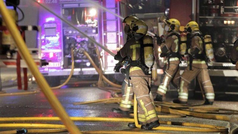 Muere un hombre en el incendio de una nave abandonada que utilizaba como vivienda