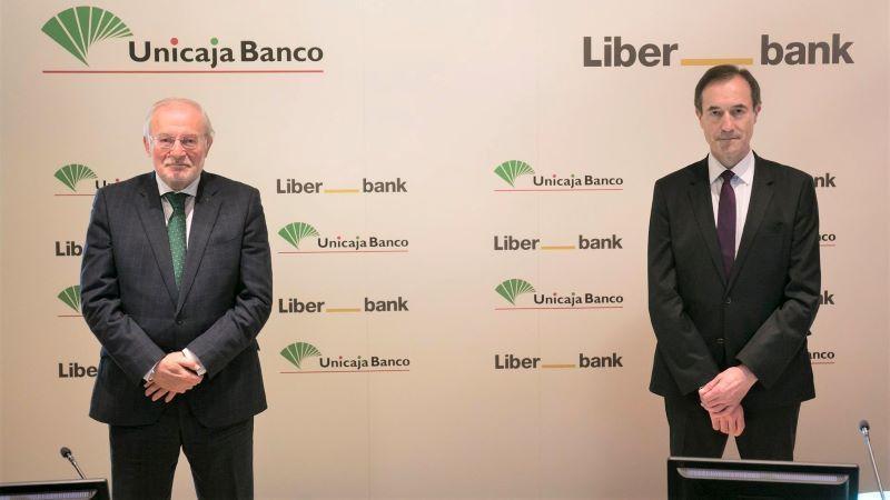 Nace el quinto banco español tras culminar la fusión de Unicaja Banco y Liberbank