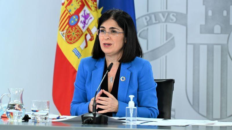 Darias anuncia la llegada a España de otros 4,8 millones de vacunas de Pfizer en abril