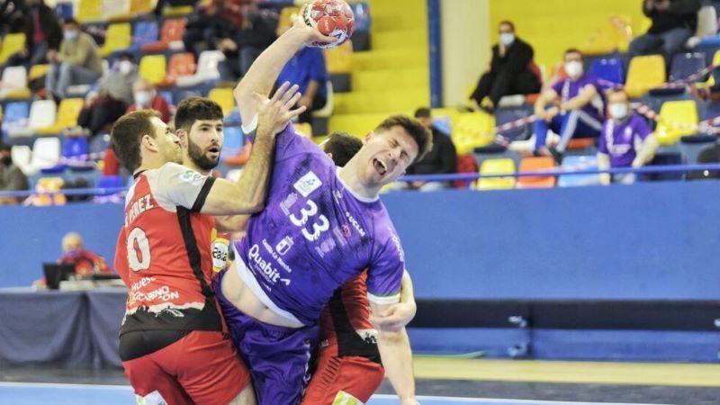 El BM Quabit Guadalajara se empeñó en que ganara el Bada Huesca (30-31)