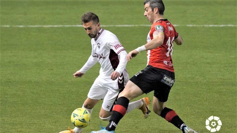 Ortuño rescata en el añadido un punto insuficiente para el Albacete (1-1)