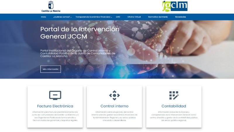 Junta actualiza el portal de Intervención General para hacerlo más accesible