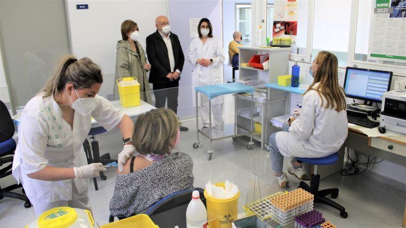 La GAI de Almansa ha vacunado de la covid a más de 1.600 personas de entre 60 y 65 años